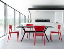 Load image into Gallery viewer, Monna Red Plastic Chair