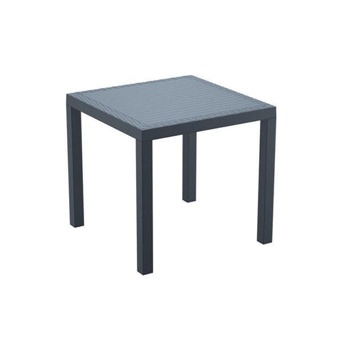 ORLANDO Commercial Plastic Table – Dark Grey