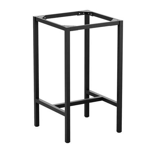 Paris-Square-Bar-Height-Table-Frame-Black