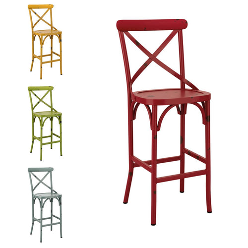 Retro cafe Bar Stools - Vintage style - Tiger Furniture