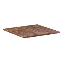 Load image into Gallery viewer, Rustic-Solid-Oak-Table-Top-70x70cm
