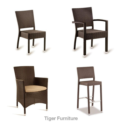 STAG Rattan Cafe Chairs Coolection-Tiger Furniture