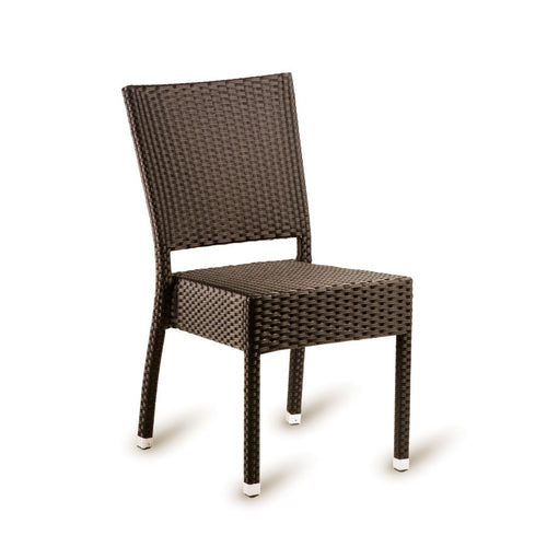 Brown Rattan Dining Chair - STAG