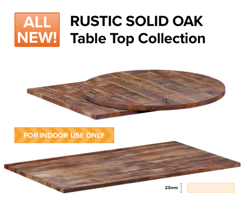 Rustic Contract table tops