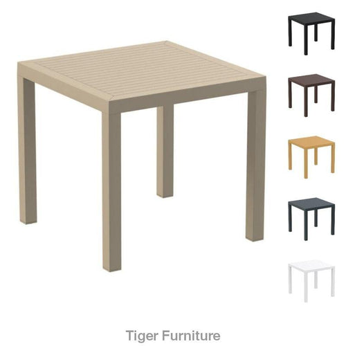 ARES 80 Table – Commercial Plastic Dining Table | Tiger Furniture UK