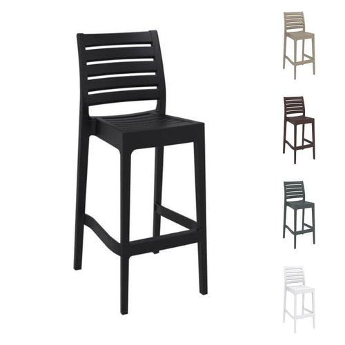 ARES 75 Bar Stool - Plastic Stacking Bar Stool | Tiger Furniture UK