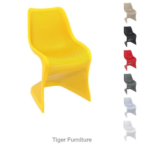 Bloom Side Chair - Funky Curved Chair