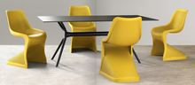 Load image into Gallery viewer, Bloom Side Chair - Funky Curved Chair