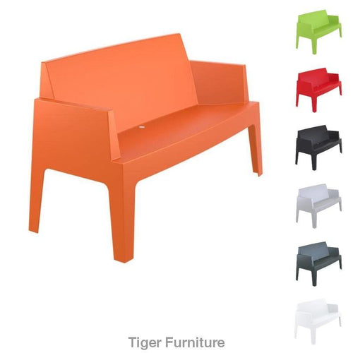Box Plastic Sofa