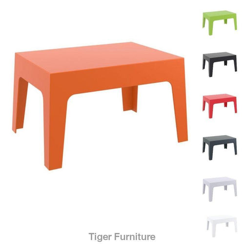 BOX Table – Box Shaped Plastic Table - Tiger Furniture UK