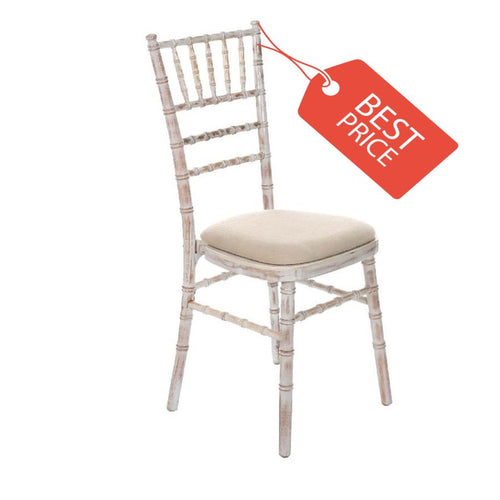 Limewash Chiavari Chair by Tiger Furniture UK