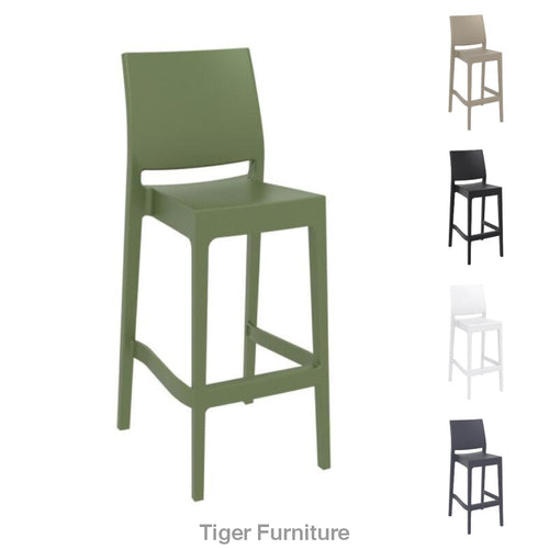 Maya Stacking Bar Stool |Tiger Furniture UK