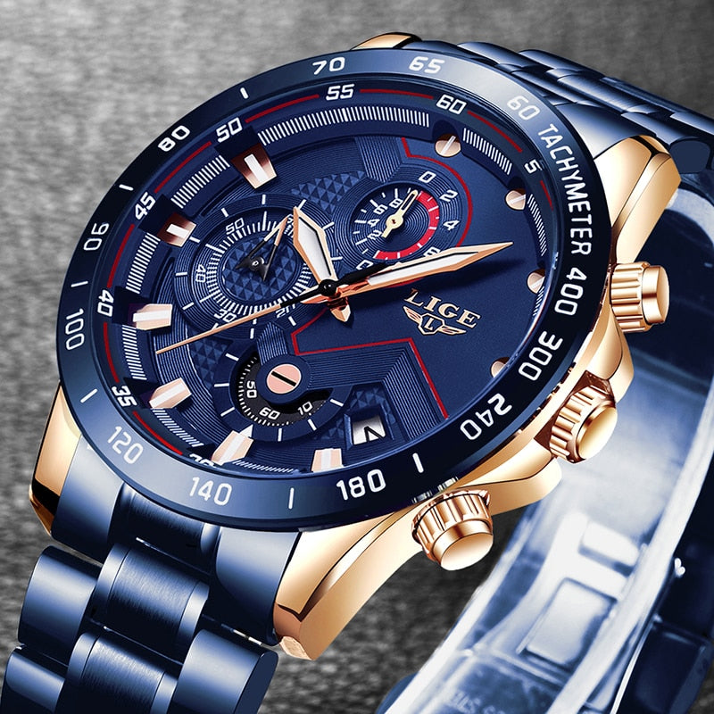 Fashion Stainless Steel Top Watch for Men