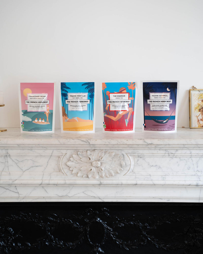 Coffret Boombastic - Lifestyle | The French Herborist - Thés et infusions biologiques