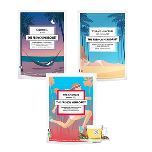 Coffret Full Day et Full Night | The French Herborist - Thés et infusions biologiques