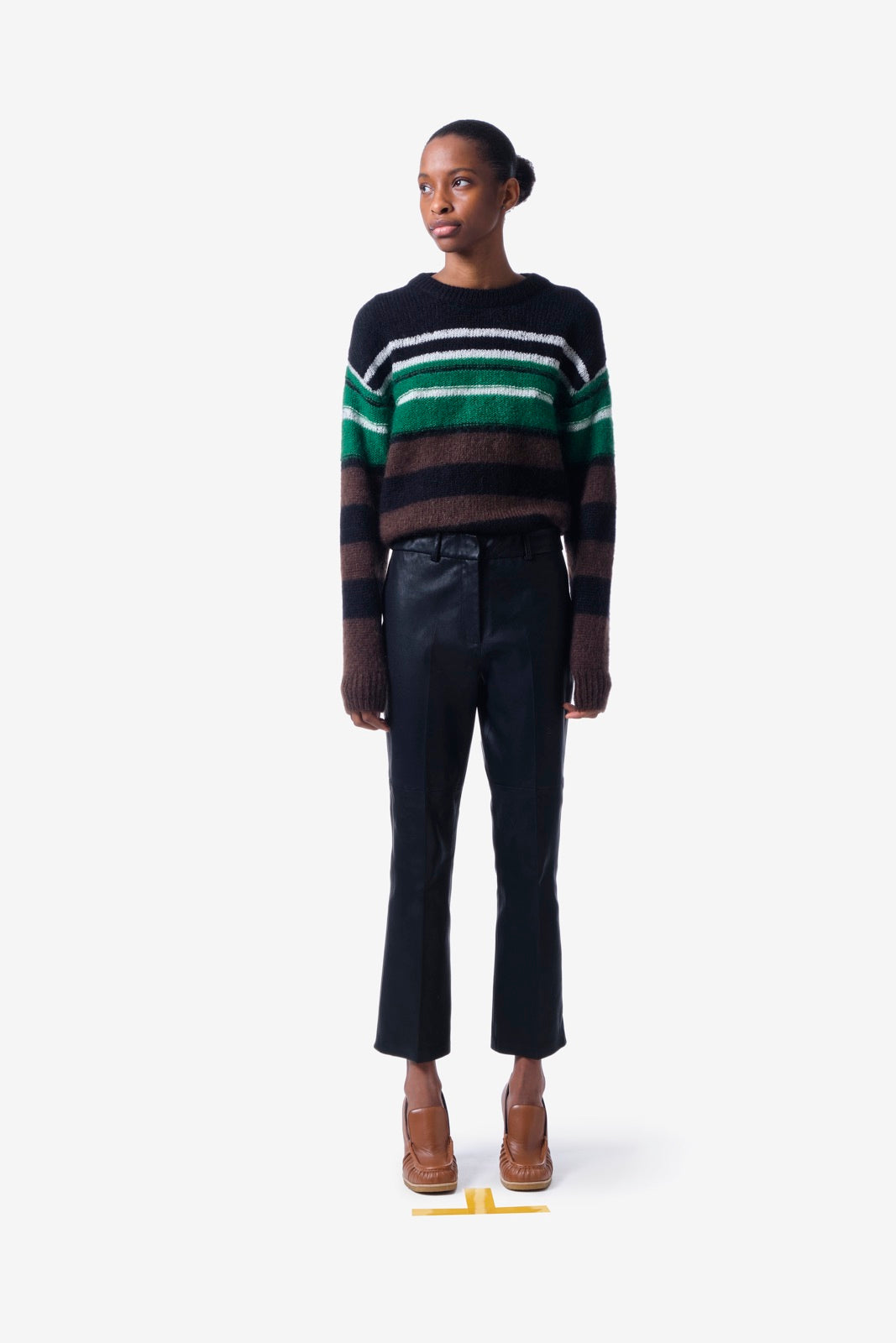 Multi Striped Mohair Sweater