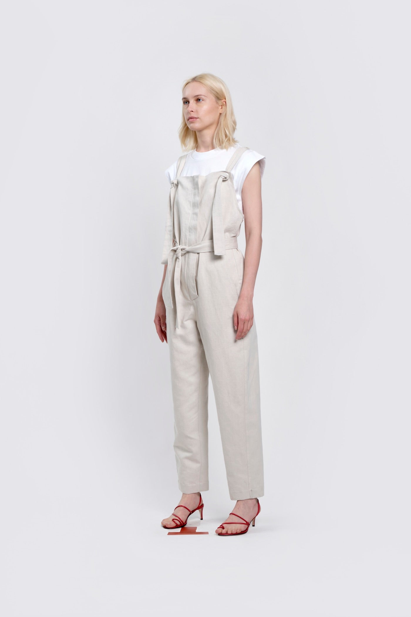 Canvas Belted Overall