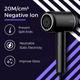 A8 Negative Ion Hair Dryer