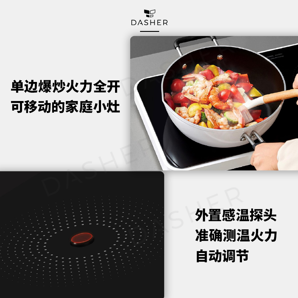 Dual Induction Cooker