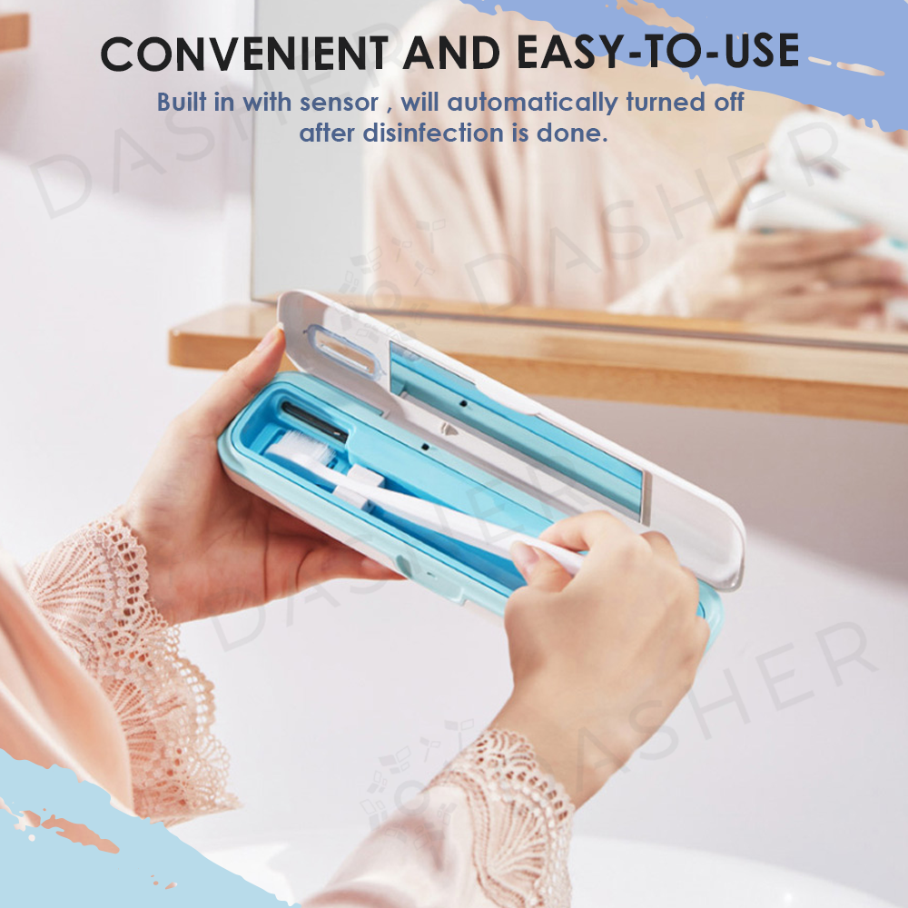 Portable Toothbrush Sterilizer Box
