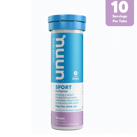 PASTILLAS NUUN SPORT GRAPE - Bikexperts