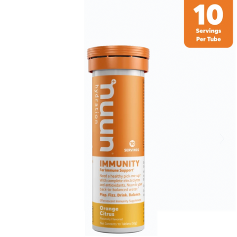 PASTILLAS NUUN IMMUNITY ORANGE CITRUS - Bikexperts