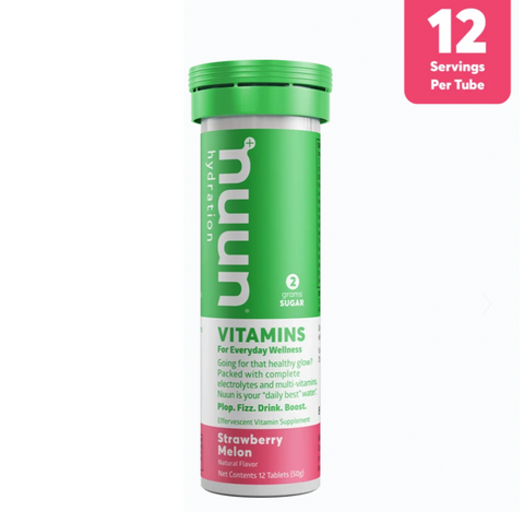 PASTILLAS NUUN VITAMINA STRAWBERRY MELON - Bikexperts
