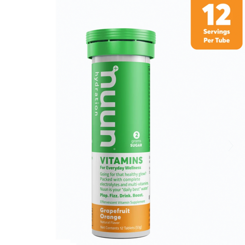 PASTILLAS NUUN VITAMINA GRAPEFRUIT ORANGE - Bikexperts