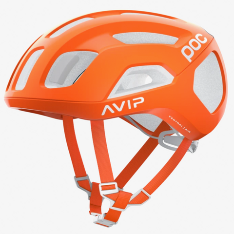 CASCO POC VENTRAL AIR SPIN ZINK ORANGE AVIP - Bikexperts