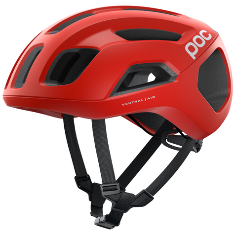 CASCO POC VENTRAL AIR SPIN PRISMANE RED MATT - Bikexperts