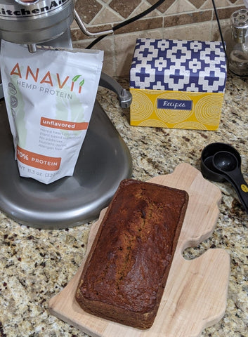 Anavii Protein and Banana Bread Loaf