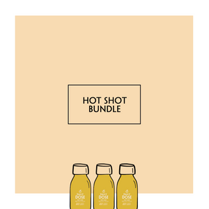 Ginger Shot Bundle - ginger shots for juicing