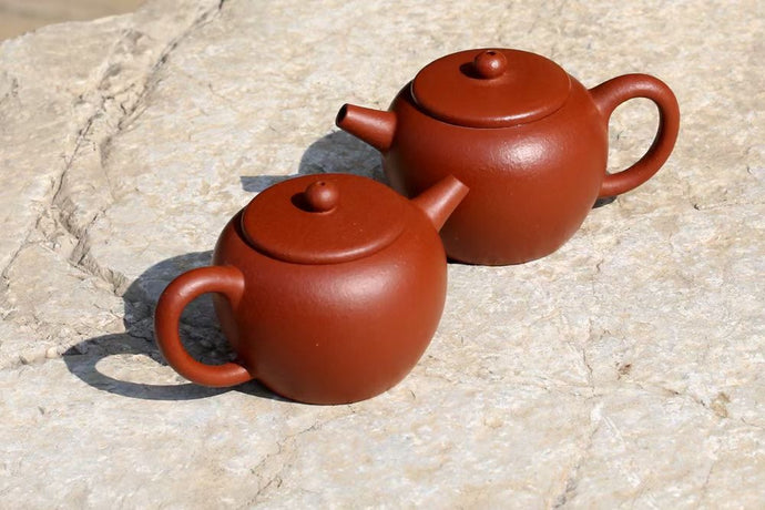 Seasoning an Yixing Teapot