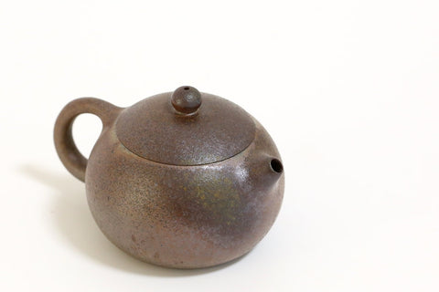 wood fired xishi style Yixing Teapot with natural ash glaze