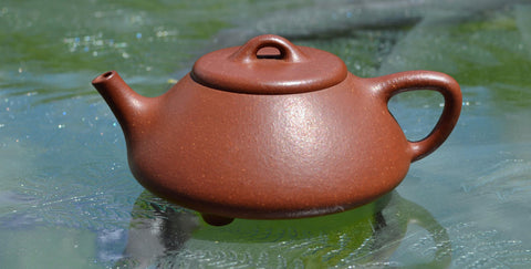 Jiangponi teapot after a few months of use.