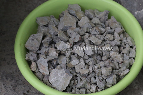 Lipini ore before being processed into clay