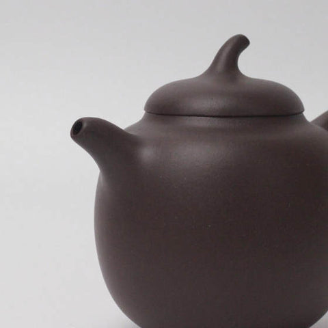 Dicaoqing Teapot fired at a temperature of over 1200C.