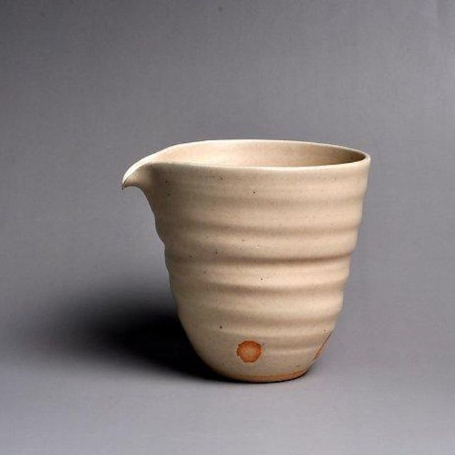 260ml Ceramic GuQing 古青 Fair Cup (Pitcher) by Taoshan Studio 桃山房