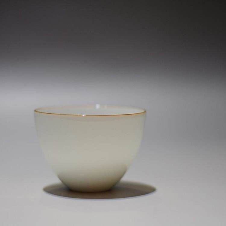 72ml Tianbaiyou Jingdezhen Porcelain Chicken Egg Cup
