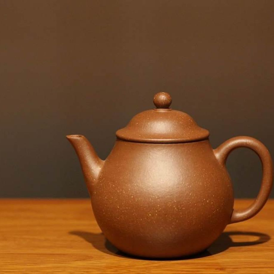 Jiangponi 降坡泥 Gaopan Yixing Teapot, 175ml