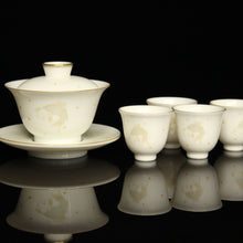Load image into Gallery viewer, Gold Fish Youzhongcai Jingdezhen Porcelain Teaset