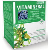 Vitamineral Strong 15 Ampollas | Dietmed - Dietetica Ferrer