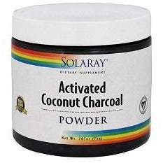 Activated Coconut Charcoal 75 gr | Solaray - Dietetica Ferrer