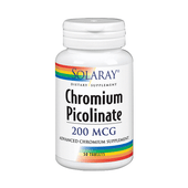 Chromium Picolinate 50 Tabletas | Solaray - Dietetica Ferrer
