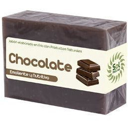 Jabon Natural de Chocolate 100 gr | Sol Natural - Dietetica Ferrer