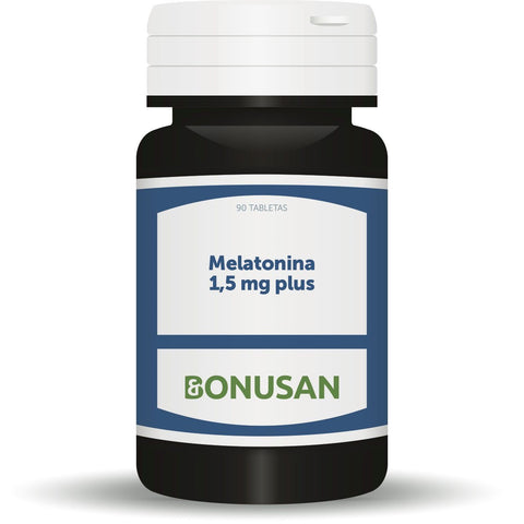 Melatonina 1,5 mg Plus 90 Tabletas | Bonusan - Dietetica Ferrer