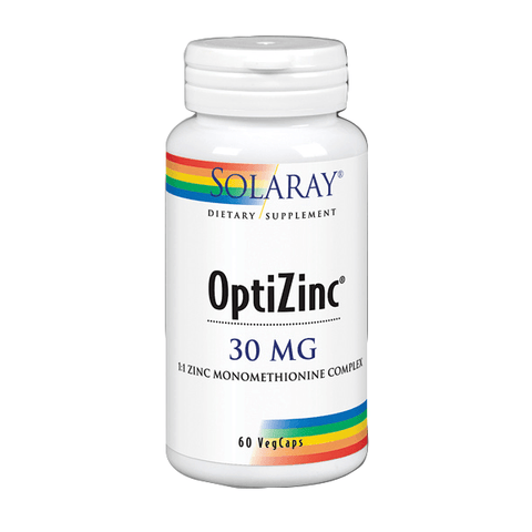 Optizinc 30 Mg 60 Capsulas | Solaray - Dietetica Ferrer