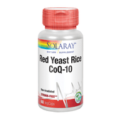 Red Yeast Rice Plus Coq-10 60 Capsulas | Solaray - Dietetica Ferrer
