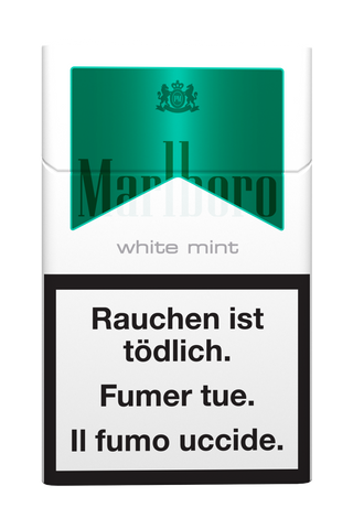 Marlboro White Mint Box Filter