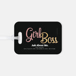 Girl Boss Luggage Tag